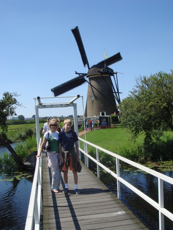Brian and I in the Netherlands