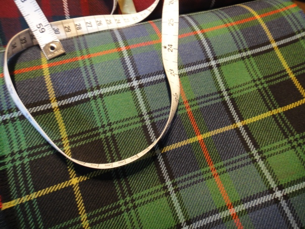 This is the tartan my son chose for his kilt
