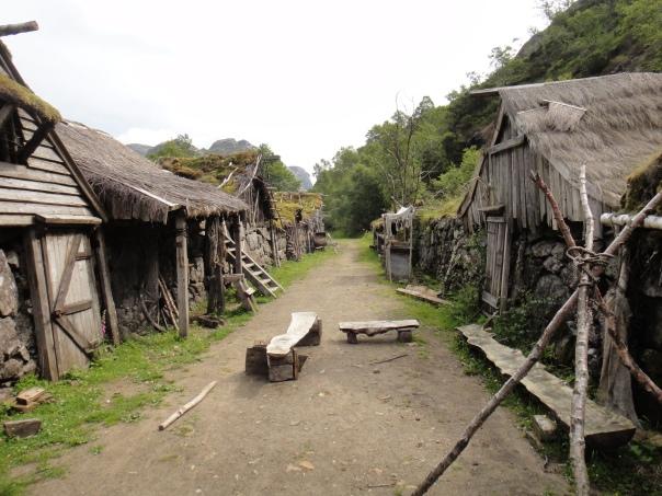 The abandoned movie set of Skumringslandet