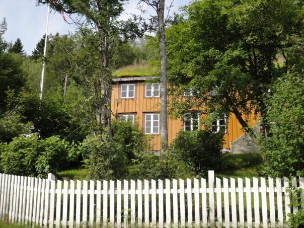 Nobel prize winner Knut Hamsun's childhood home