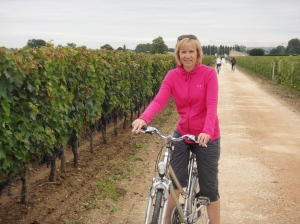 A bicycle ride through the vineyards is a must!